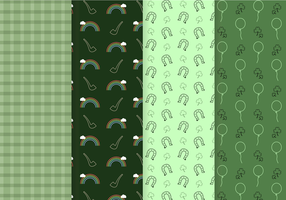 Free St. Patrick Pattern Vector