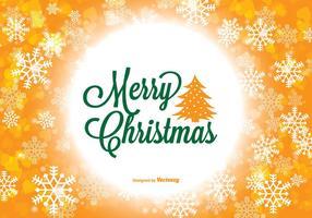Ilustração colorida de Feliz Natal