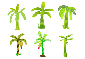 Free Banana Tree Vector