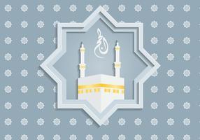 Gratis islamisk bakgrundsvektor