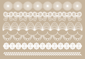 Free Lace Trim Vintage Vector
