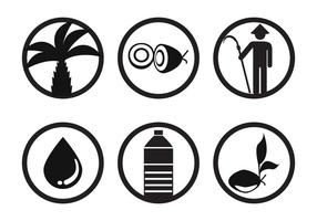 Vetor de óleo de palma