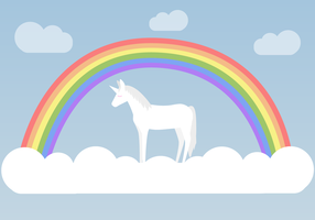 Gratis Unicorn Vector