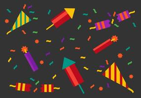 Gratis Party Popper Vector