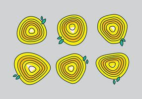Gratis Tree Rings Vector Illustratie # 10