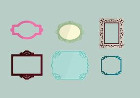 Name Plate Vector Pack 1