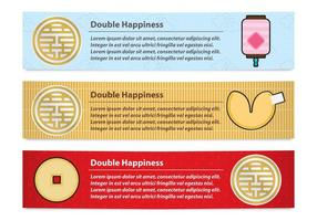 Double Happiness Banner