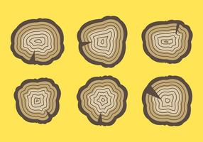 Gratis Tree Rings Vector Illustratie # 7
