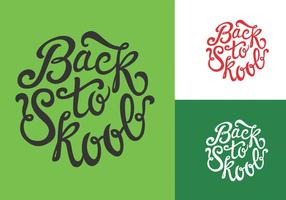 Back To Skool Vectors