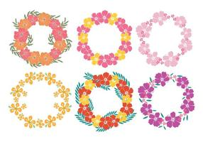 Hawaiian Lei Vectors