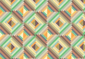 Retro geometric pattern background vector