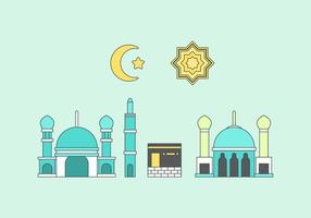 Free Makkah Vector Illustration #1