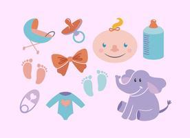 Vectores bebé gratis