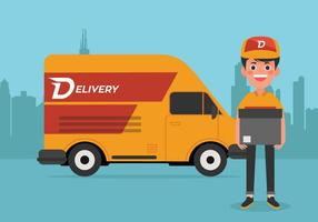 Vector Delivery Man