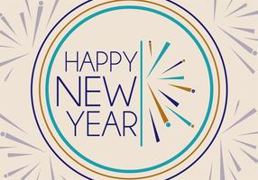 Gratis New Years Vector