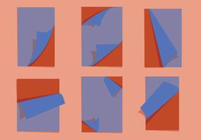 Seite Flip-Vektoren