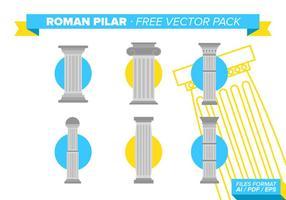 Romersk Pilar Gratis Vector Pack