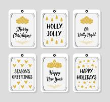 Free Christmas Background Greeting Card vector