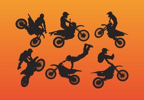 Dirt Bike Vector