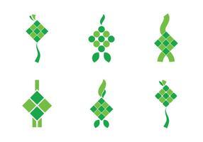 Free Ketupat Vector Icon