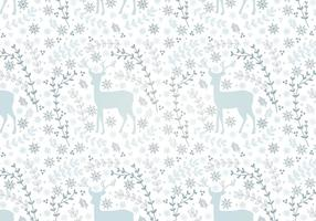 Pattern sans couture Vector Deer