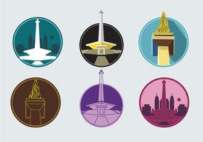 Monas Tower Icons