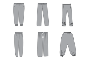 Gratis Sweatpants Vector