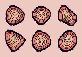 Gratis Tree Rings Vector Illustratie # 12