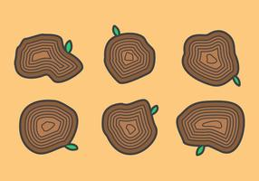 Gratis Tree Rings Vector Illustratie # 3