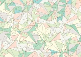 Pastel Abstract Gemstone Pattern vector