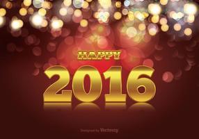 Happy 2016 Illustration