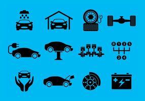 Vecteurs de service de voiture