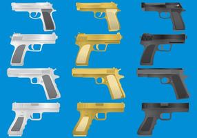 Vetores Gun Glock