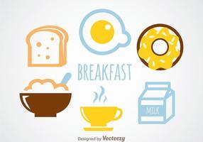 Vecteur de petit-déjeuner