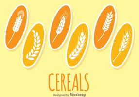 Cereals Plants vector