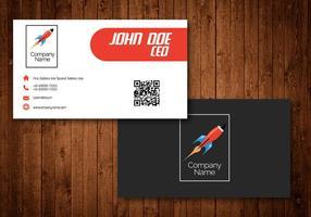 Cartões de visita criativos para empresas de transporte e de correio