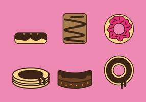 Libre Brownie Vector Iconos # 3
