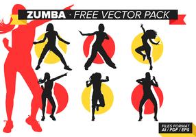 Zumba gratis vektorpaket