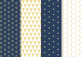 Golden Pattern Vector gratuito