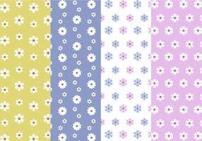 Free Flower Pattern Vector