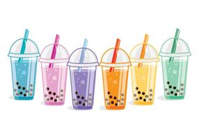 Vettori di Bubble Tea
