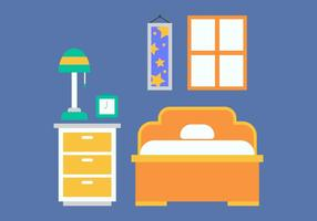 Gratis Kids Room Vector Ikoner # 19