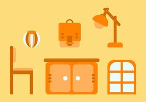 Free Kids Room Vector Icons # 13