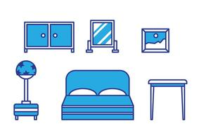 Gratis Kids Room Vector Pictogrammen # 9