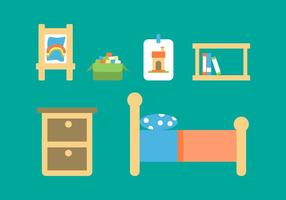 Free Kids Room Vector Icons # 12