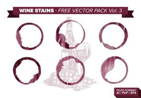 Wine Stains Free Vector Pack Vol. 3