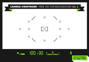 Camera Viewfinder Free Vector Background Vol. 2