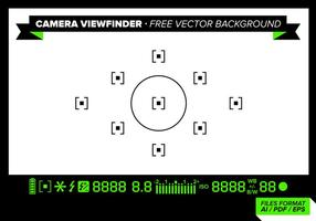 Camera Viewfinder Free Vector Background