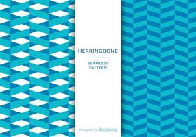 Free Herringbone Patterns Vector