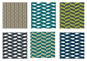Herringbone Pattern Blue Vector